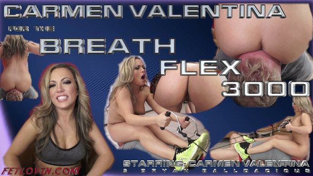 Carmen Valentina for the Breath Flex 3000