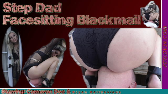 Step Dad Facesitting Blackmail