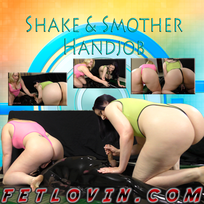 Shake and Smother Handjob