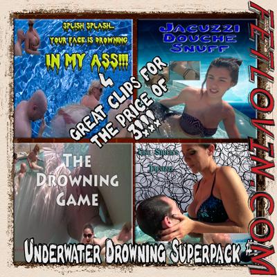 Underwater Drowning Superpack #1